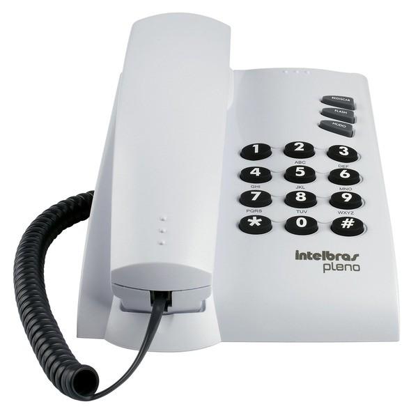 Telefone Pleno C/Chave (Cz Artico) Intelbras
