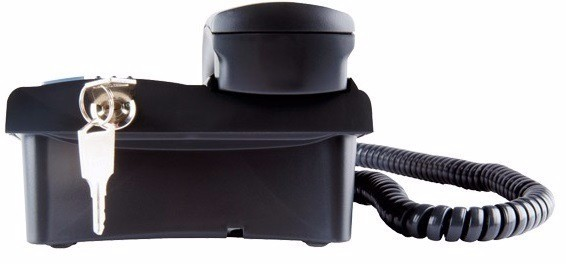 Telefone Pleno C/Chave (Preto) Intelbras  - Eletroinfocia