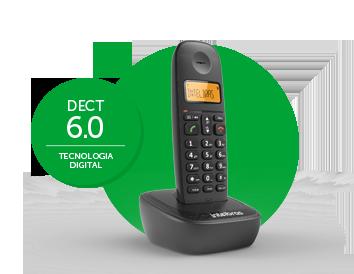 Telefone Sem Fio TS 2511 Ramal (Preto) Intelbras