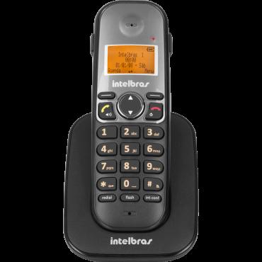 Telefone Sem Fio Ts 5121 Ramal (Preto) Intelbras