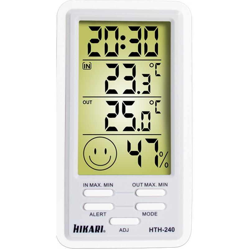 Termometro Higrometro Digital HK-T240 21N146 Hikari