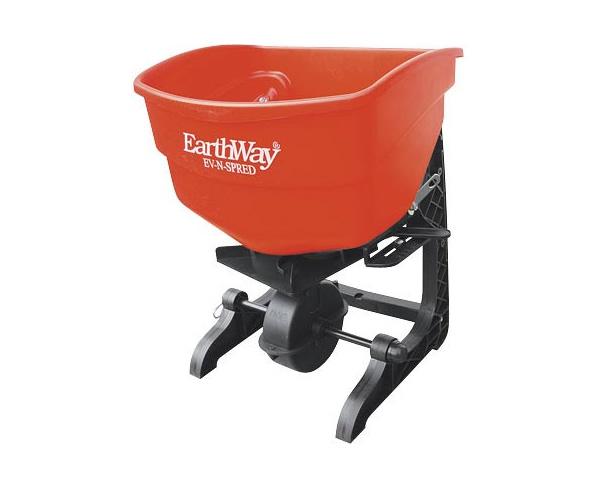 Semeadora manual de pastagem irrigada