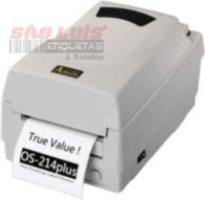 Impressora de Etiquetas ARGOX OS 214TT Plus - SÃO LUIS ETIQUETAS BOBINAS E RÓTULOS