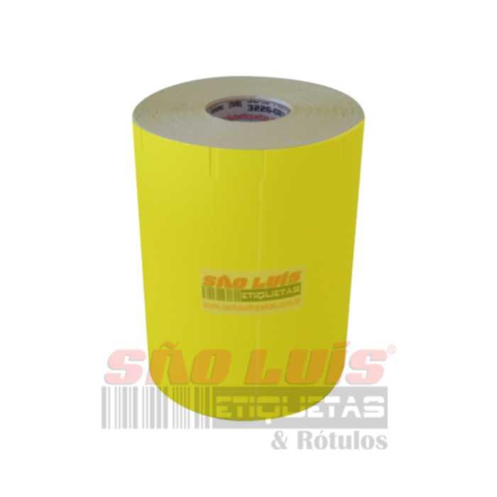 Etiqueta para Gondola 107X30 Cartão Amarelo 09 rolos - SÃO LUIS ETIQUETAS BOBINAS E RÓTULOS
