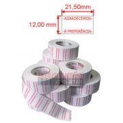 Etiqueta para Etiquetadora Manual MX-5500 100 rolos