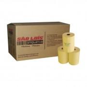 Bobina para Impressora Termica NFCe 80X40 Amarelo 30 Unidades