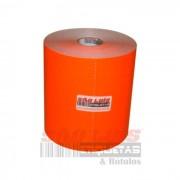 Etiqueta para Gondola 110X30 Cartão Fluorescente Vermelho 09 rolos - SÃO LUIS ETIQUETAS BOBINAS E RÓTULOS