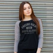 Camiseta Manga Longa Feminina Fresno Rock