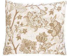 Almofada 45cm x 45cm Impermeável 1 peças - Cáqui Floral