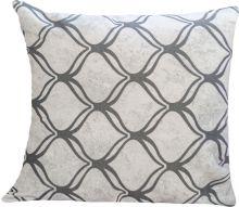 Almofada 45cm x 45cm Impermeável 1 peças - Cinza Geometrico