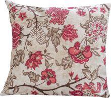 Almofada 45cm x 45cm Impermeável 1 peças - Vinho Floral