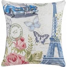 Almofada 48cm Fantasy Paris com 2 peças