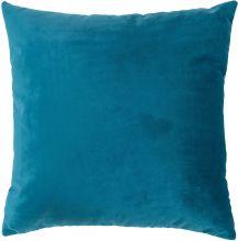 Almofada Chenille Azul com 1 peça
