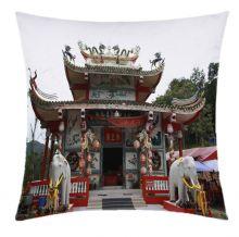 Almofada Desenhada Decoração Estrangeiro com 2 peças tecido Microfibra - Almofada Digital