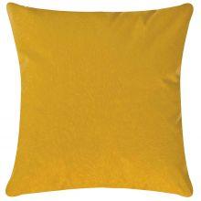 Capa de Almofada 45cm Glamour Amarelo com 1 peças