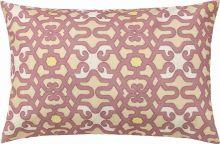 Capa de Almofada  Fascínio Rose Arabesco com 1 peças
