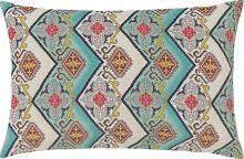 Capa de Almofada  Fascínio Verde Arabesco com 1 peças