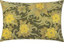 Capa de Almofada  Fascínio Verde Floral com 1 peças