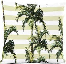 Capa de Almofada Silk Impressão Digital estampa Palm