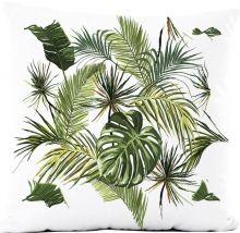 Capa de Almofada Silk Impressão Digital estampa Tropical