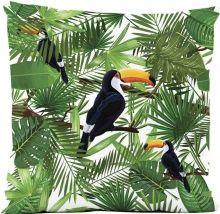Capa de Almofada Silk Impressão Digital estampa Tucano