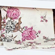 Capa de Travesseirão Rafaela Rose 1,40m x 45cm com 1 peça