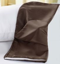 Capa de Travesseirão Rafaela Tabaco Microfibra 1,40m x 45cm com 1 peça