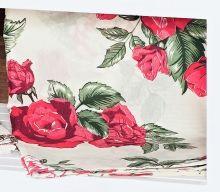 Capa de Travesseirão Rafaela Vermelho 1,40m x 45cm com 1 peça