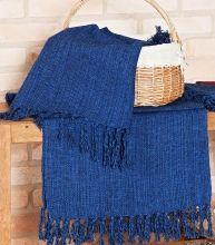 Passadeira Passadeira Cor Lisa cor Azul Marinho com 3 peças