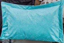 Porta Travesseiro Murano 70cm x 50cm Tiffany Em Suede com 1 peça