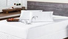 Protetor de Colchão Impermeável Casal Matelado mais duravel com 3 peças
