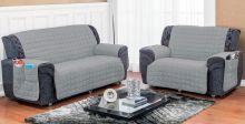 Protetor de Sofá Soft 2 peças - Cinza
