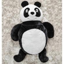 Puff Gigante para Dormir Pelúcia Panda Médio com 1 peças