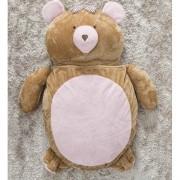 Puff Gigante para Dormir Pelúcia Ursa Médio com 1 peças