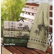 Toalha Banho com cores para escolha em 100% Algod�o Gramatura 415g/m2 com 1 pe�as - Toalha Bambu