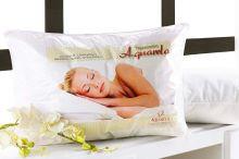 Travesseiro em 100% Algodão de 68cm x 48cm - Travesseiro de Cama Aquarela