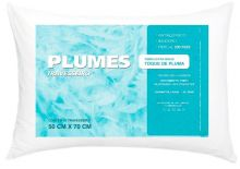 Travesseiro Toque de Pluma Plumes 1 peças - Único