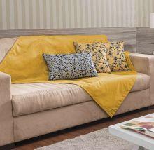 Xale  Fascínio Amarelo com 7 peças