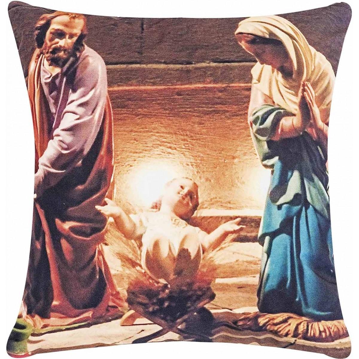 Almofada 48cm Fantasy Menino Jesus com 2 peças