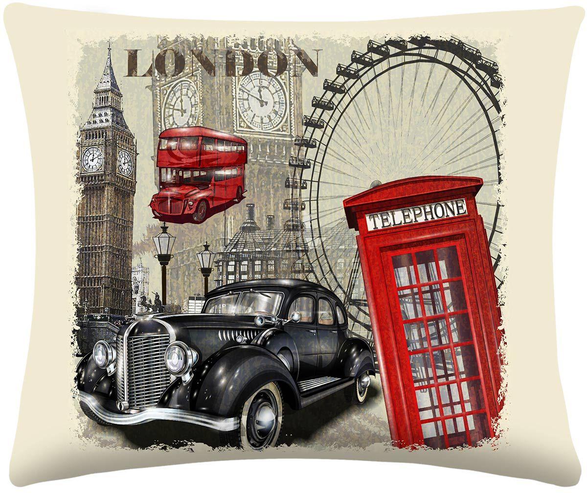 Almofada Digitais London com 2 peças