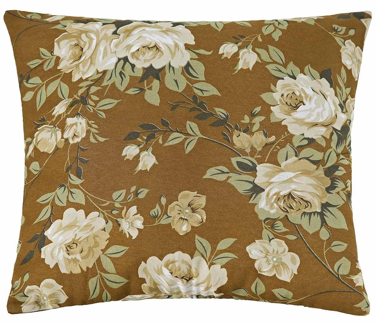 Almofadas Avulsa 40cm x 40cm  Floral Estampado com 1 peças
