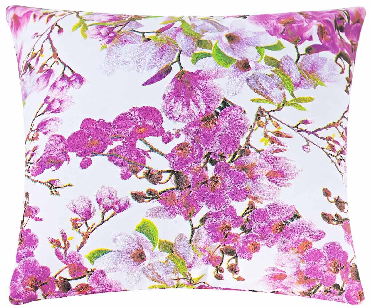 Almofadas Avulsa 40cm x 40cm  Flores Estampado com 1 peças
