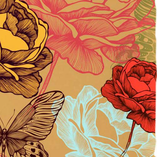 Capa de Almofada 45cm Capa de Almofada Silk Flores com 1 peças em Poliéster