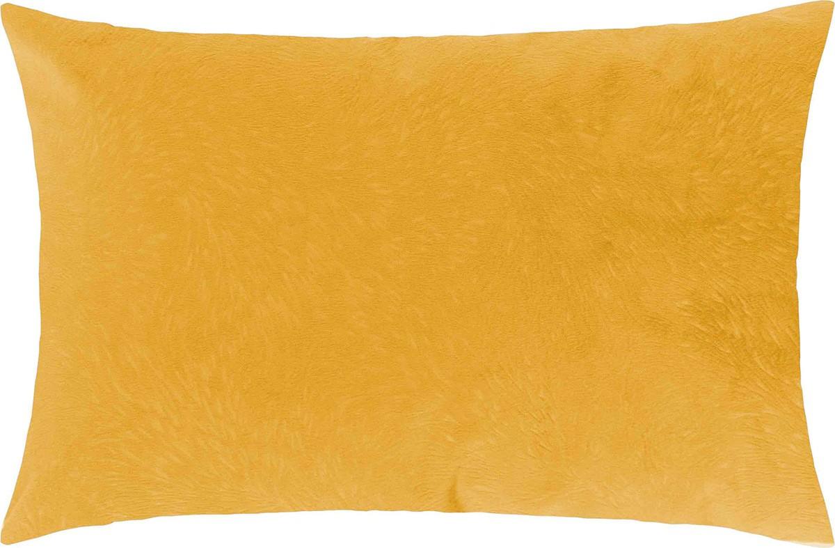 Capa de Almofada  Glamour Amarelo com 1 peças