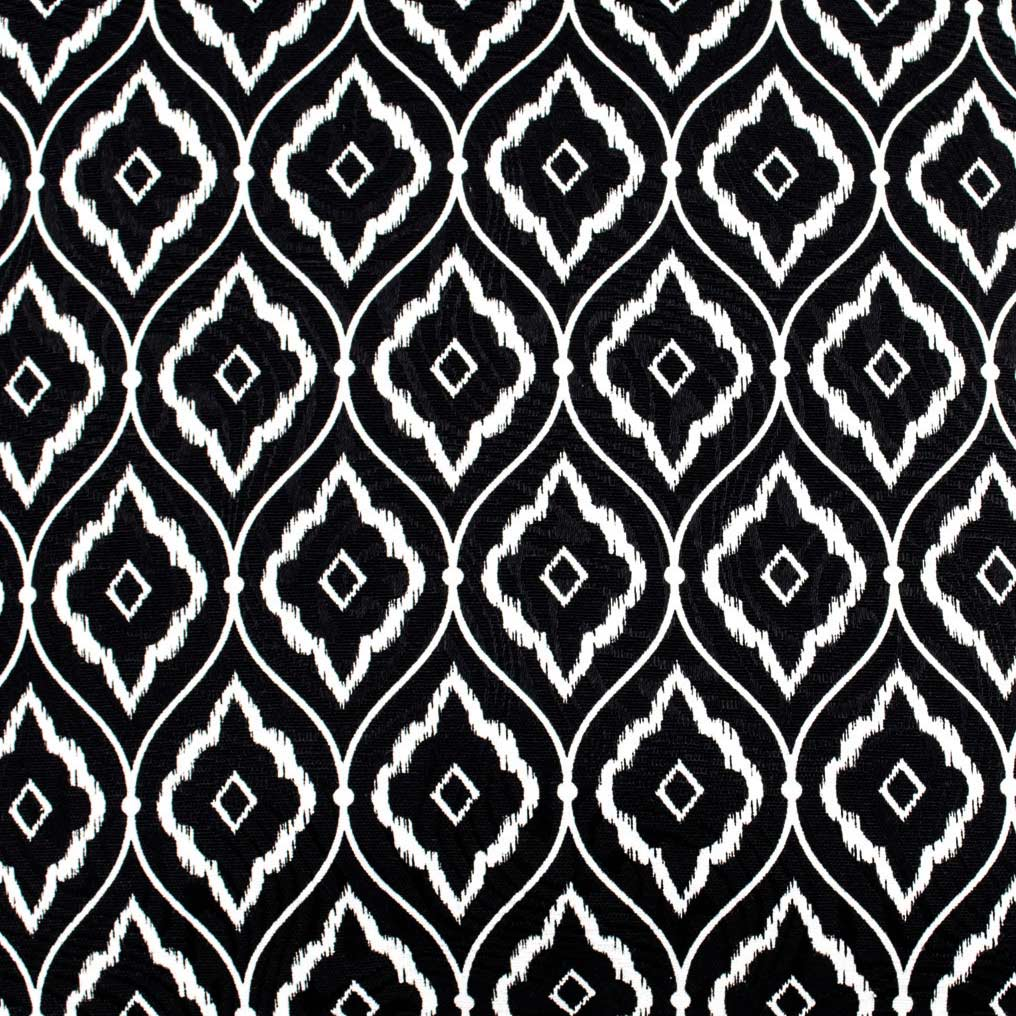 Capa de Almofada Molinara  Geometrico Preto com 1 peças em