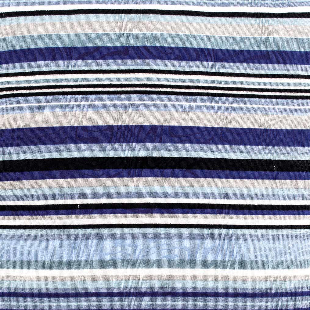 Capa de Almofada Molinara  Listras Azul com 1 peças em