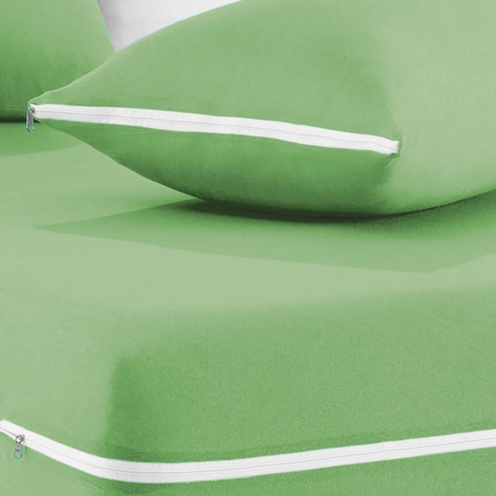 Capa de Colchão Mascali Queen Verde Nille com 1 peças em Algodão