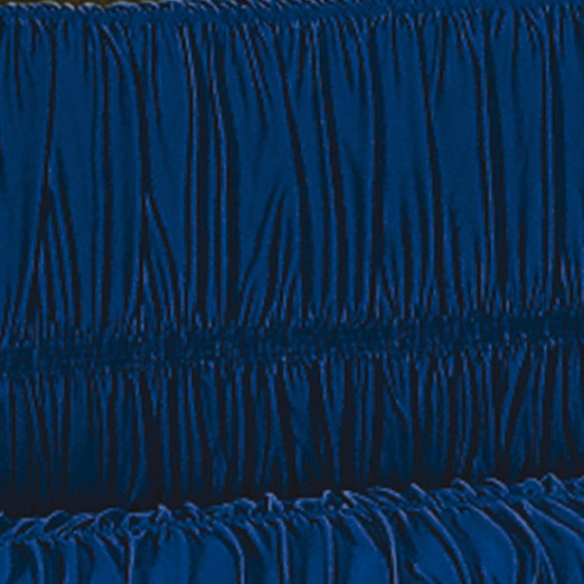 Capa de Sofa de 2 e 3 Lugares Azul Marinho em Malha Gel 100% Poliester com capa de 20 elatiscos em 02 pecas - Capa para Sofa Adornare