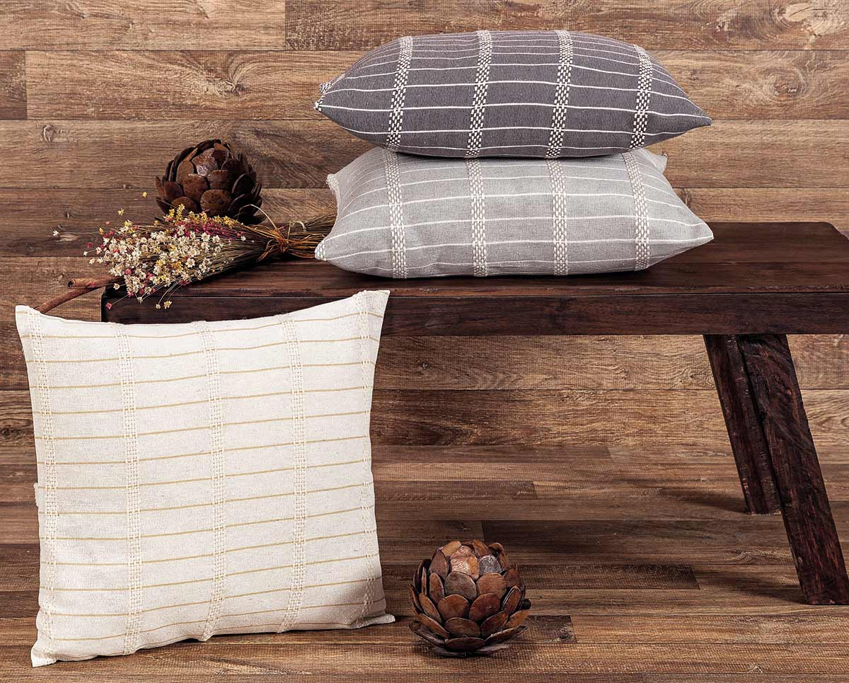 Capa para Almofada 45cm x 45cm Decoração Havana Cores Diversas com 1 peças em Algodão / Poliéster