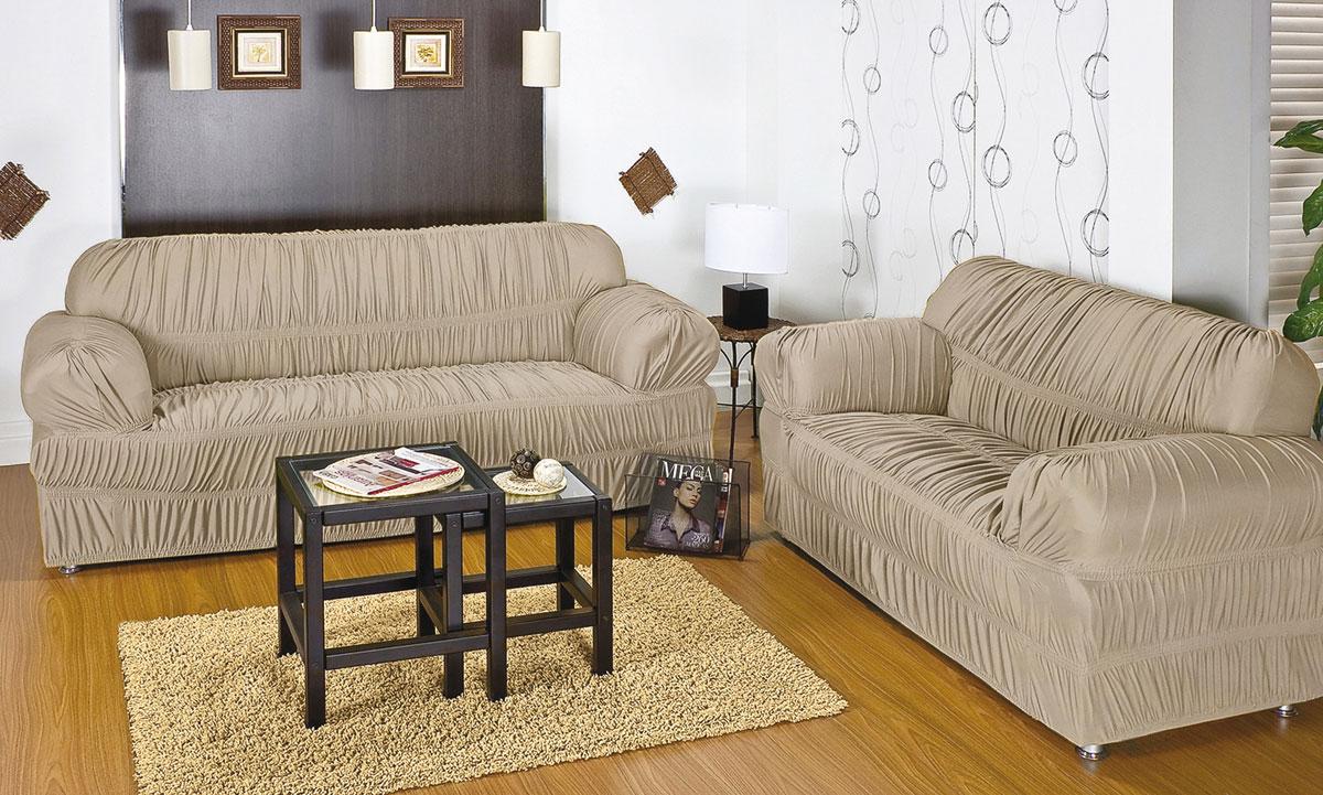 capa para sofa com 20 elasticos e em malha gel para 2 ou 3 lugares na cor areia capa de sofa. Black Bedroom Furniture Sets. Home Design Ideas
